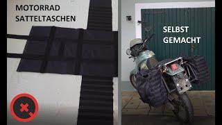 DIY Motorrad Satteltaschen Selbstgemacht