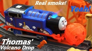 Thomas & Friends Trackmaster: Thomas' Volcano Drop Play Set Unboxing & Playtime 2 of 2