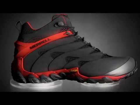 4ee7790ad7 Merrell Chameleon 7 Walking Boots - YouTube
