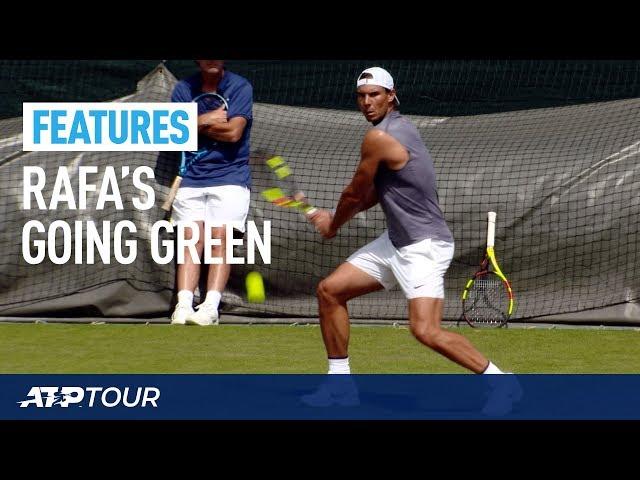 WIMBLEDON | Rafa Nadal Practice Session