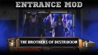 WWE 2K15 PC MOD: Brothers of Destruction Entrance [PC Entrance Mod]