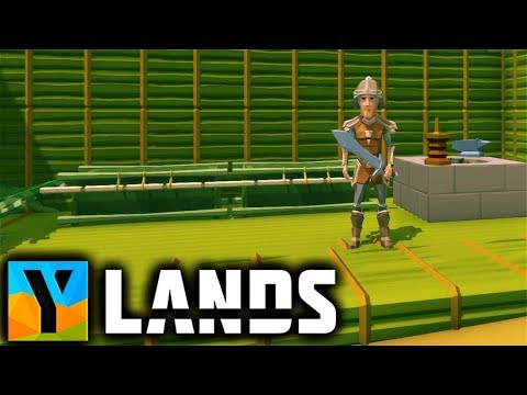 Ylands - Crafting SWORD and ARMOR | BAMBOO HOUSE Beginnings - Ylands Gameplay Part 5