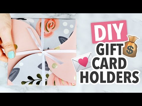 Diy Gift Card Holder Ways Christmas