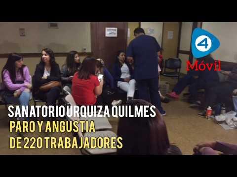 """Angustia en el Sanatorio Urquiza de Quilmes: """"Los trabajadores no tienen para comer"""""""