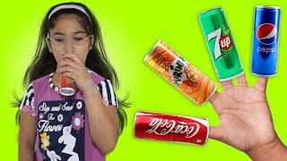 Learn colors Soda with malak - Finger Family Song Nursery Rhymes & Songs For Children