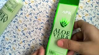 APK Aloe Vera foundation review...