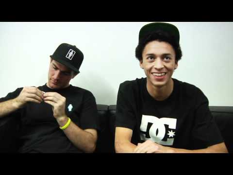Nyjah & Mike Mo DC Interview - TransWorld SKATEboarding