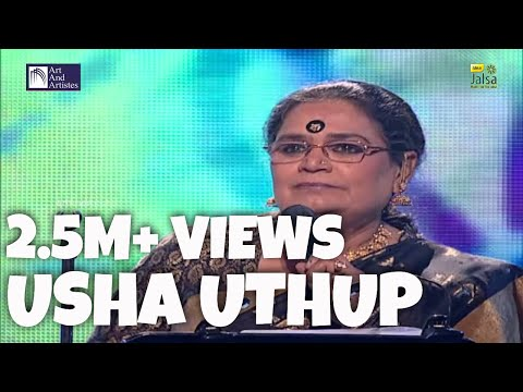 Engine Ki Seeti Mein Maro Mann | Usha Uthup | Rajasthani Folk Song | Idea Jalsa | Art and Artistes