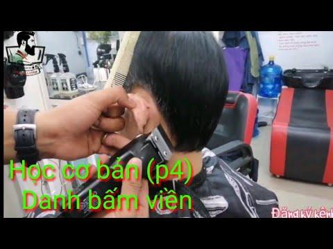 (Phần 4)tập tạo khung kiểu danh bấm viền bằng tông đơ – kiểu tóc thích hợp cho người gầy lớn tuổi..