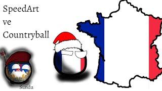 Fransa SpeedArt ve Countryball