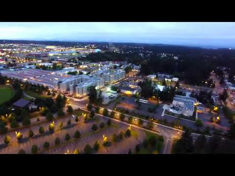 Ariel Footage of Federal Way WA