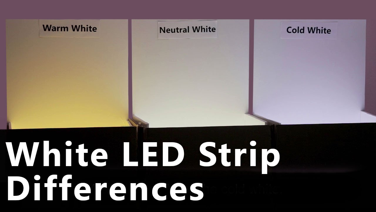 Cool white vs warm white led lights - Cool White Vs Warm White Led Lights 17