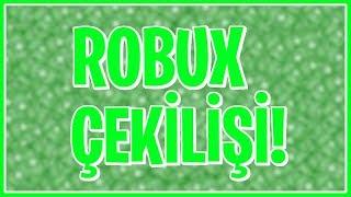 ROBUX ÇEKİLİŞİ! / ROBLOXÇULAR GELSİN! / NinjaGamerMB