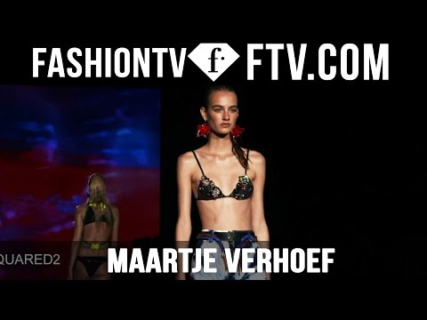 Model Talks S/S 2016 - Maartje Verhoef | FTV.com