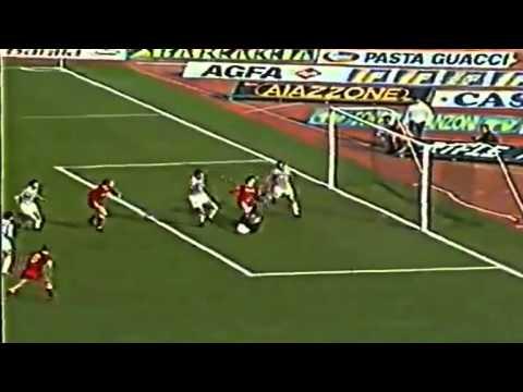 Serie A 1987-1988, day 20 Roma - Juventus 2-0 (2 Desideri)