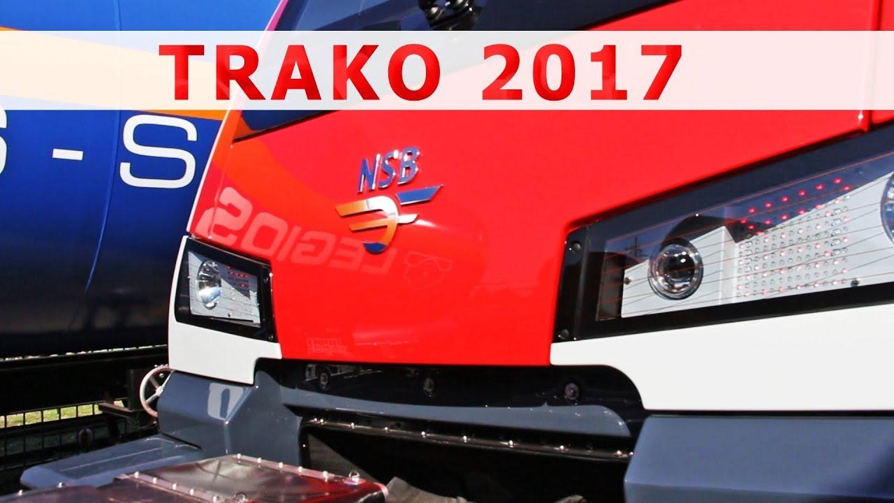 Kolej 2017: nowe zespoły trakcyjne / Trains 2017: new multiple units