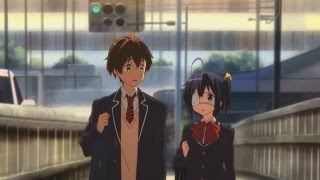 Last episode of Chuunibyou, the second season ended, so i'm telling...