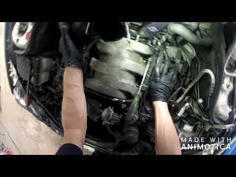 How to remove the intake manifold on an 02 Mercedes C320