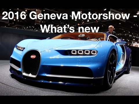 Geneva Motorshow What S New Hypercars Supercars