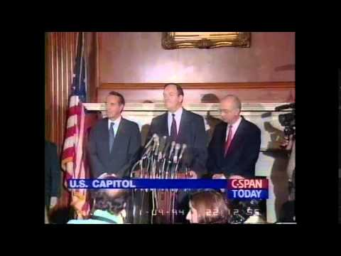 Alabama U.S. Senator Richard Shelby Switches Parties in 1994