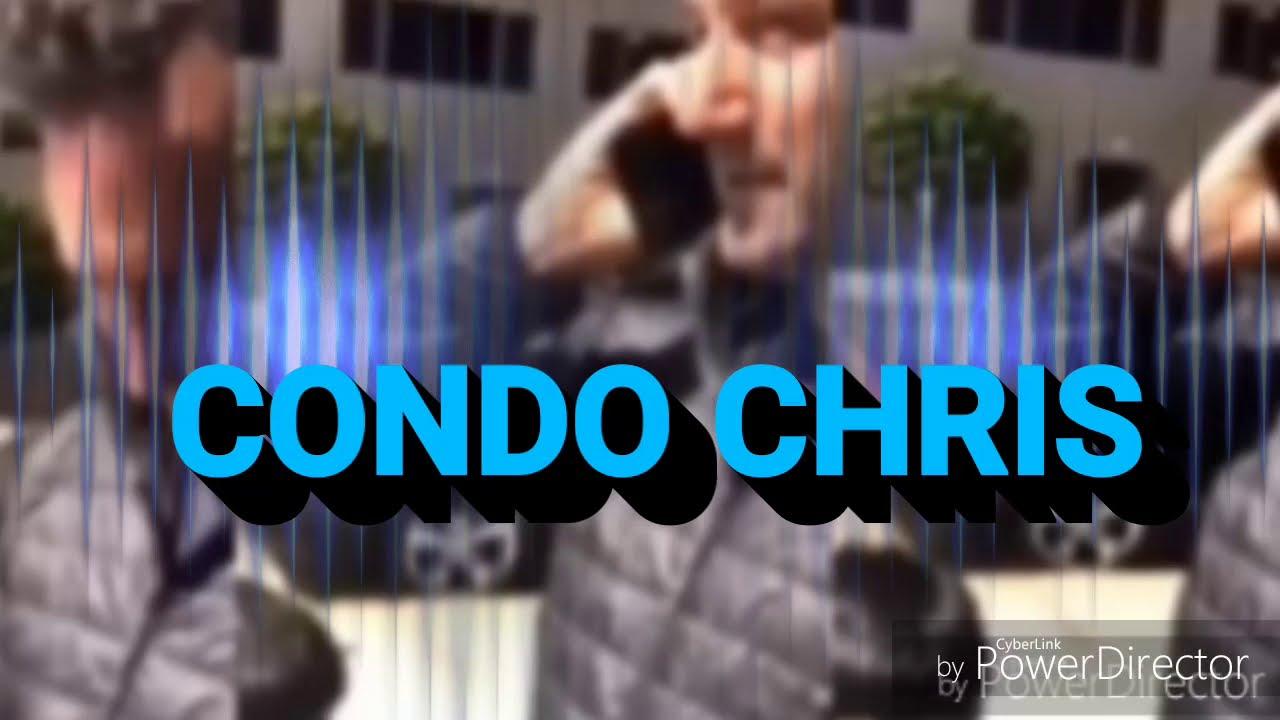 CONDO CHRIS : WAITING FOR A FRIEND WHILE BLACK !