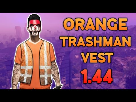 GTA 5 How To SAVE The Orange Trashman Vest 1.44 *OUTFIT TRANSFER* (GTA 5 Clothing Glitches)