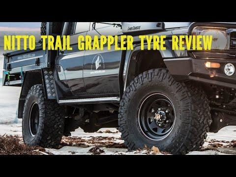 Nitto Trail Grappler Tyre Review On And Off-road