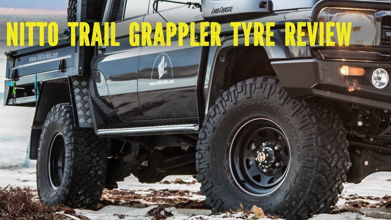 Nitto Trail Grappler tyre review On and Off-road - YouTube
