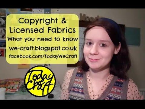 Copyrighted fabrics