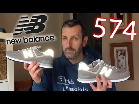 How thick are New Balance 574 Sneakers?