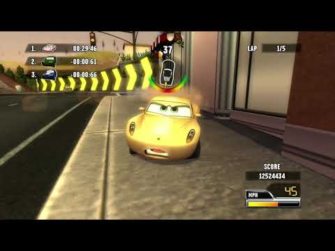 Cars: Race-O-Rama: ONE-HALF HOUR GAMEPLAY