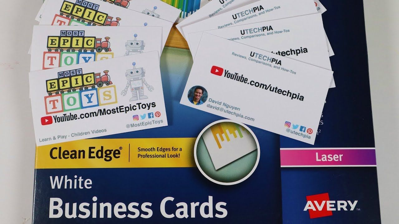 How To Print Business Cards At Home