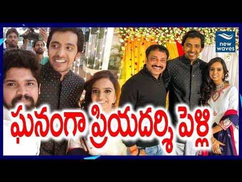 Comedian Priyadarshi Wedding and Reception Full Video   Richa Sharma   New Waves