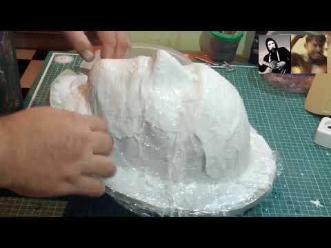 how to do the mask of WHALE wtf metall diy