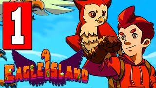 EAGLE ISLAND Gameplay Walkthrough Part 1 (FULL GAME) Lets Play Playthrough PC Nintendo Switch