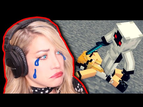 "REACTION: Minecraft Song PSYCHO GiRL 13 ""Griefer"" ★ Minecraft Animation Music Video Series"