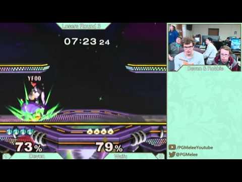 GQ Weekly 12/9/15 Losers Round 3: Devon (Sheik) VS Robbie (Peach)