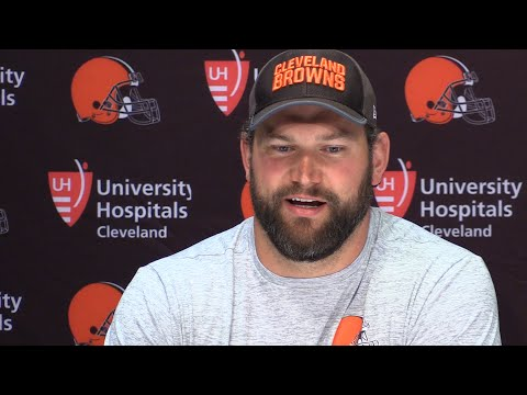 Browns' Joe Thomas not panicked about memory loss