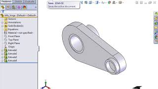 How to add Custom Properties and Parametric Notes in Solidworks Drawings