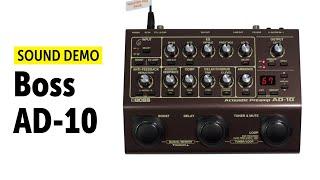 Boss AD-10 - Sound Demo (no talking)
