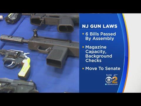 N.J. Assembly Passes 6 Gun Control Laws