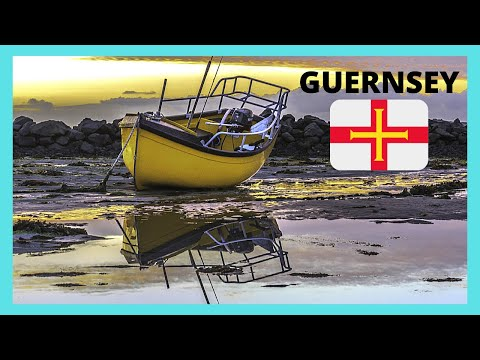 GUERNSEY, a walking tour of St Peter Port (Channel Islands)