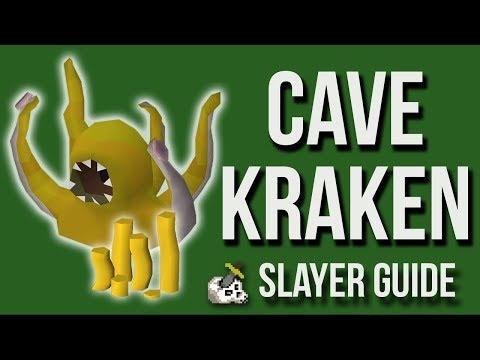 Cave Kraken Slayer Guide OSRS - Magic Setup (Nov 2018)