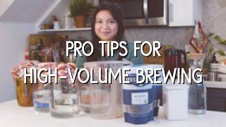 Kombucha Brewing Pro-Tips: Upgrading Materials for High-Volume Homebrewing