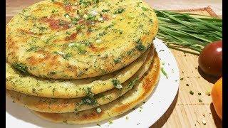 Быстро, Вкусно и Бюджетно! Картофельные пышки с сыром и зеленью
