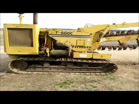 1974 Vermeer T600c Trencher For Sale Sold At Auction