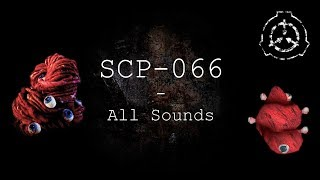 SCP-066 | All Sounds | SCP - Containment Breach (v1.3.11)