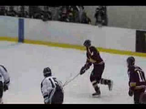 Arlington Vs John Jay Hockey Goal