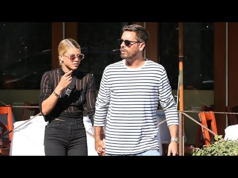 Scott Disick And Sofia Richie Asked About Kourtney's