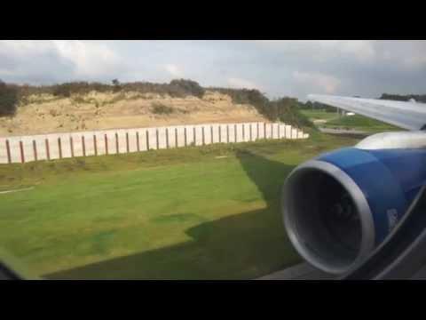 British Airways 777 -  RR power takeoff to Kingston Jamaica  - quality sound.